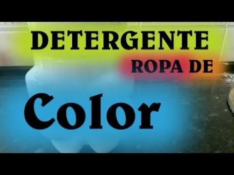 Detergente Ropa De Color, super potente y económico, proteje los colores LEED EL PRIMER COMENTARIO