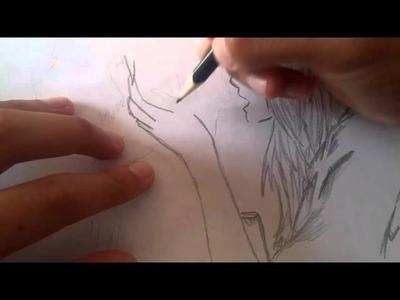 Dibujar anime 1.draw anime 1