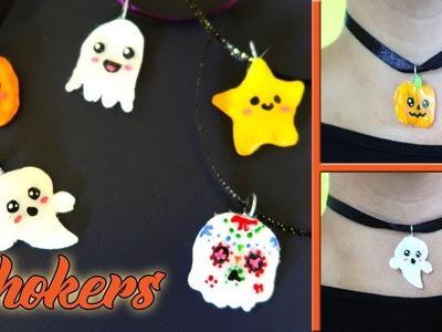 DIY - Chokers - accesorios Halloween