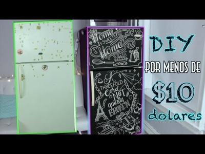 DIY | RENUEVA TU NEVERA POR MENOS DE $10 DOLARES | Lore Peñaloza