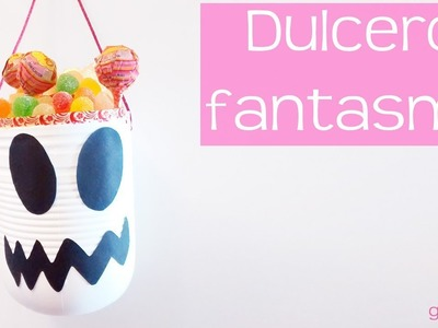 Dulcero Fantasma Halloween en 3 minutos. Ghost Halloween treat bag for 3 minutes.