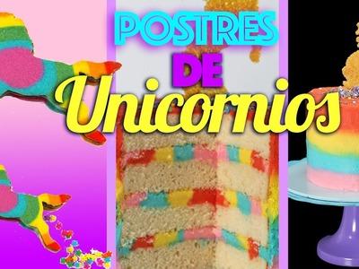 DULCES DE UNICORNIOS   Intensa Mente, Galletas, Cupcakes, Cakes de niños y en capas