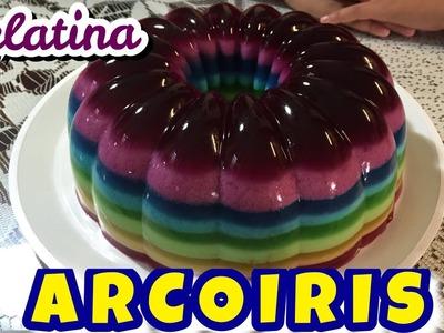 Gelatina Arcoiris.RAINBOW JELLO - DESDE MI COCINA by Lizzy