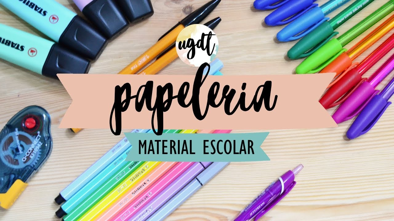 Haul de papelería online - Colaboración con Material Escolar - Muchos bolígrafos - UGDT