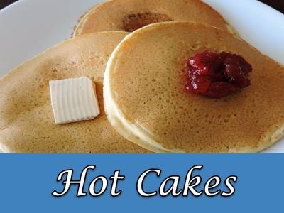 Hot cakes esponjosos y rápidos