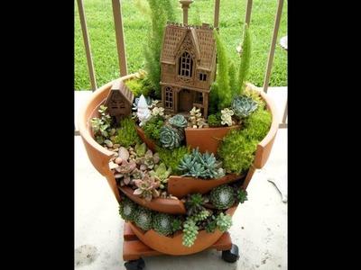 Ideas para decorar con plantas suculentas originales y divertidas. Funny succulent decoration.