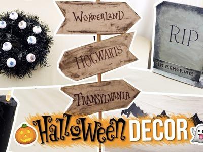 ¡Haz 5 DECORACIONES para HALLOWEEN! | Paulettee