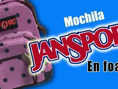 JanSport mochila para fofucha - Fofucha JanSport backpack