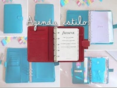 »»» lluvia de ideas: Agenda estilo filofax