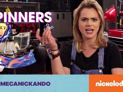 Mecanickando con Rox | Tutorial 2 | ¡Arma tu spinner! | Nickelodeon en Español