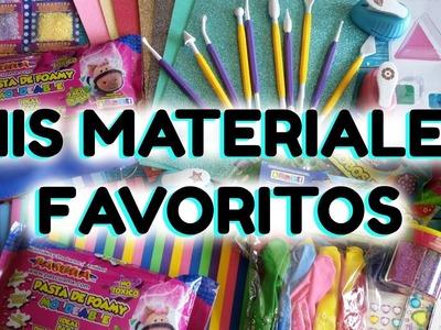 Mis Materiales Favoritos