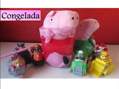 Peppa Pig rescatada por la Patrulla Canina Español | Peppa Pig en español