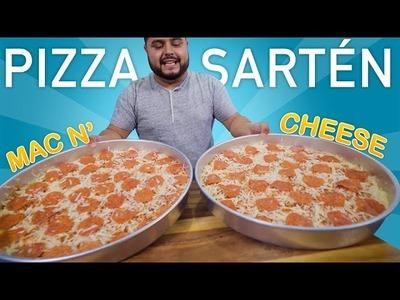 PIZZA de SARTÉN   MAC n CHEESE   EL GUZII