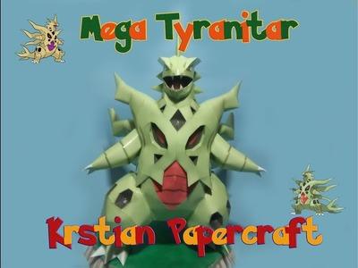 Pokemon Papercraft - Mega Tyranitar