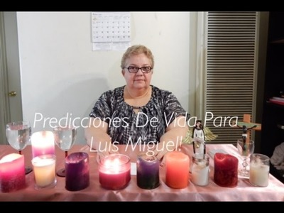 Predicciones De Vida Para Luis Miguel!