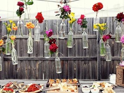 Reciclaje de botellas de vidrio - ideas para reciclar frascos y botellas de vidrio