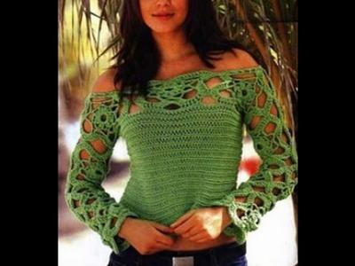 Sección Ropa de mujer a Crochet