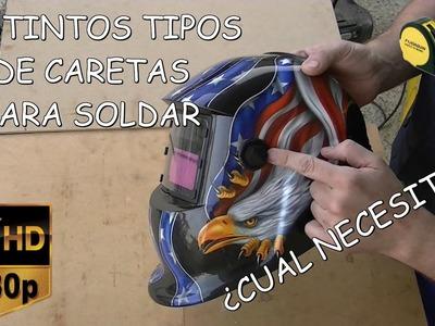 TIPOS DE PANTALLAS PARA SOLDAR