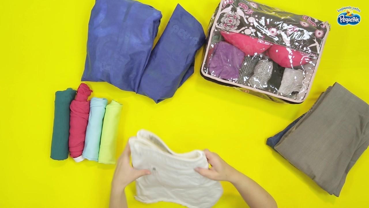 Tips para empacar una maleta de viaje | DIY