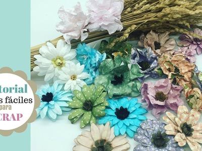 Tutorial flores fáciles para SCRAP
