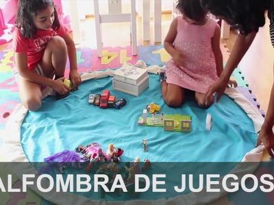 Vídeo DIY: hacer una alfombra de juego, fácil y sencillo