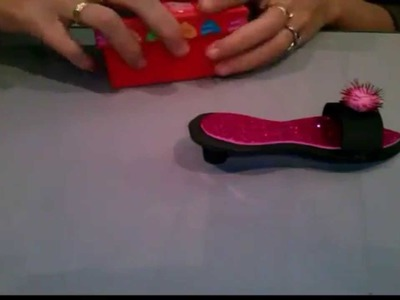 Zapato de tacón en goma eva superfácil
