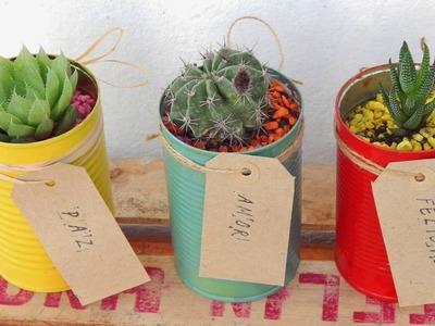 10 Ideas Novedosas #12 Que Querrás Tener Ya!!! Latas Recicladas!!!