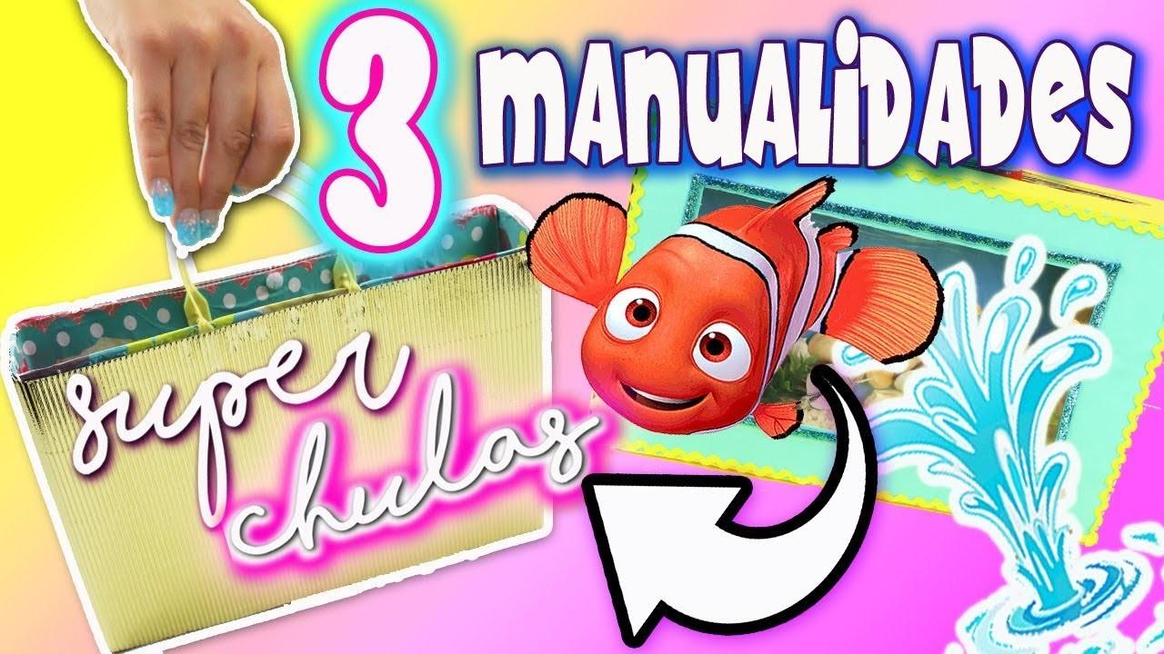 3 manualidades CON RECICLAJE .   Manualidades con Mariel Picazo