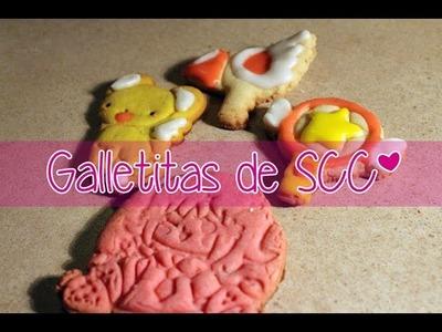 #33 Batidorial: Galletitas de Sakura Card Captors ❤~(゚▽゚*)