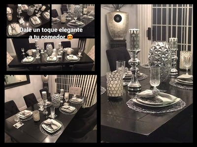 Aprende a decorar tu comedor  + dale un toque elegante ???????????????????? (Decoration for your dining room.)