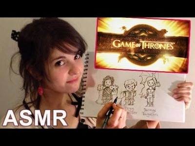 [ASMR en español] Dibujo de Game of Thrones