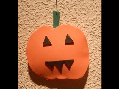 CALABAZA DE GOMA-EVA CON VOLUMEN (Especial Halloween)