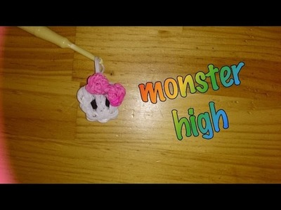 Calavera Monster High de gomitas con telar