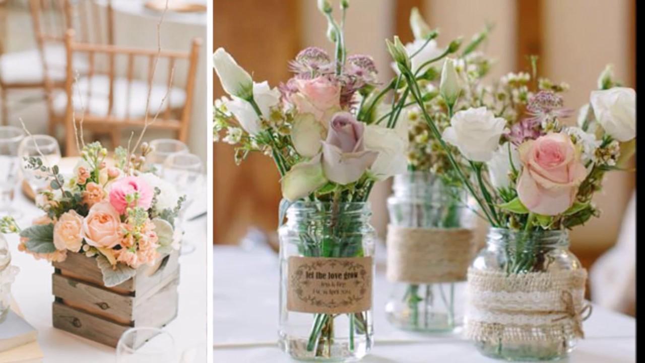 Centros De Mesa Con Flores Para Decoraciones De Primavera