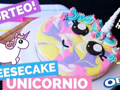 Cheesecake de Oreo UNICORNIO (sin horno) + SORTEO - La Cooquette