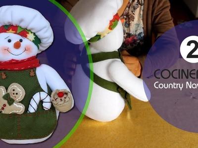 Cocinerito Paso a Paso Country Navideño  Parte 2
