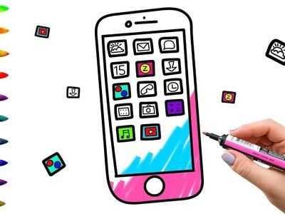 Colorear el libro para colorear y dibujar para niños Aprendiendo a pintar con marcadores de colores
