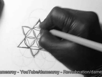 Cómo dibujar la geometría sagrada.