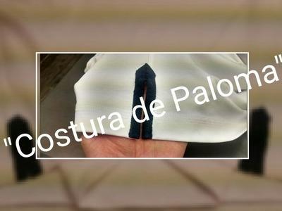 """Como hacer la costura de """"Paloma"""" en una Camisa Polo( Tips de Costura )"""