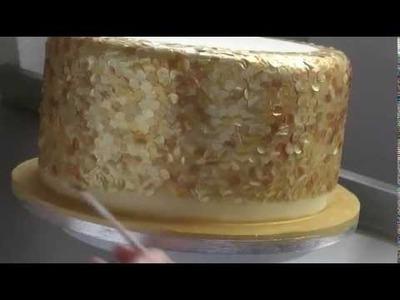 ¿Cómo hacer lentejuelas comestibles para tortas u otros dulces?