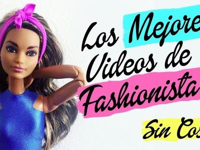 Cómo hacer ropa sin coser. Los mejores videos de Barbie Fashionista. Pantalón, vestido, falda.