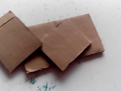 Como hacer una cama para tus muñecas de carton