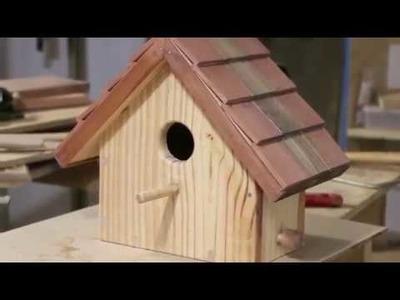 Cómo hacer una casa para pájaros