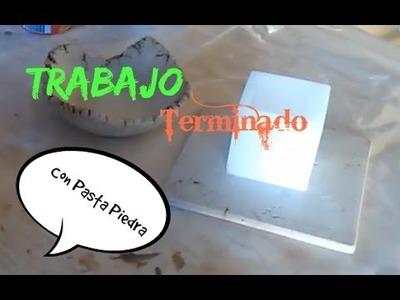 COMO TERMINAR EL TRABAJO DE PASTA PIEDRA