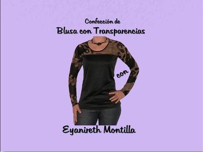Confección de Blusa Básica con Transparencias