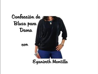 Confección de Blusa para dama