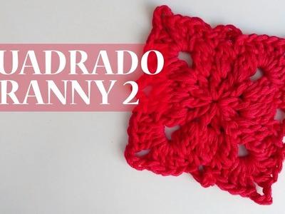Cuadrado Granny a crochet