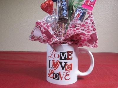 Decora una taza para regalo de los enamorados +Tutoriales