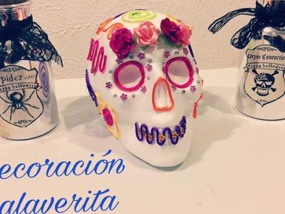 Decoración fácil para Día de Muertos: Halloween!!