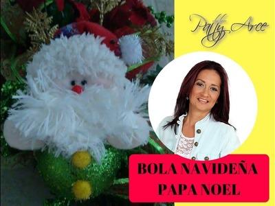 Decoracion Navideña Bola de Navidad Papa noel
